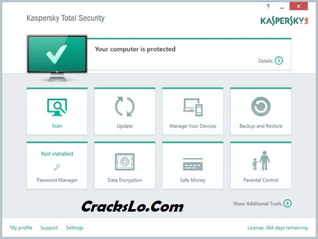 Kaspersky Total Security 2020 License Key