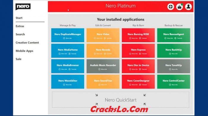 Nero 2020 Platinum License Key