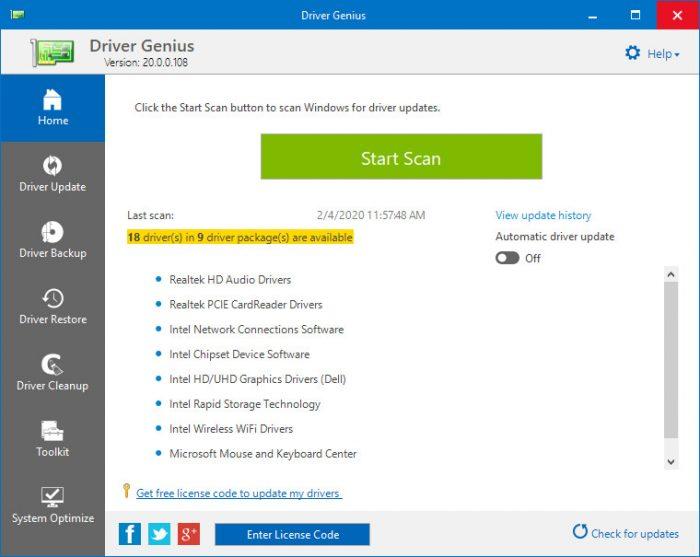 Driver Genius Pro License Code