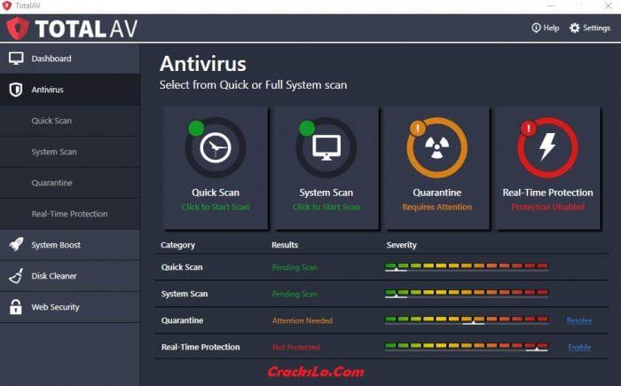 Total AV Antivirus 2020 Serial Key