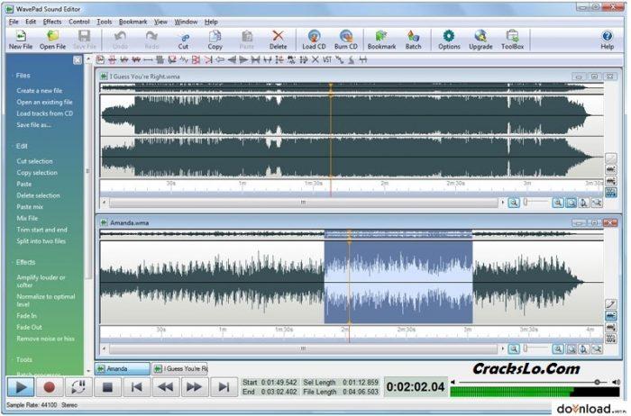 WavePad Sound Editor Registration Code
