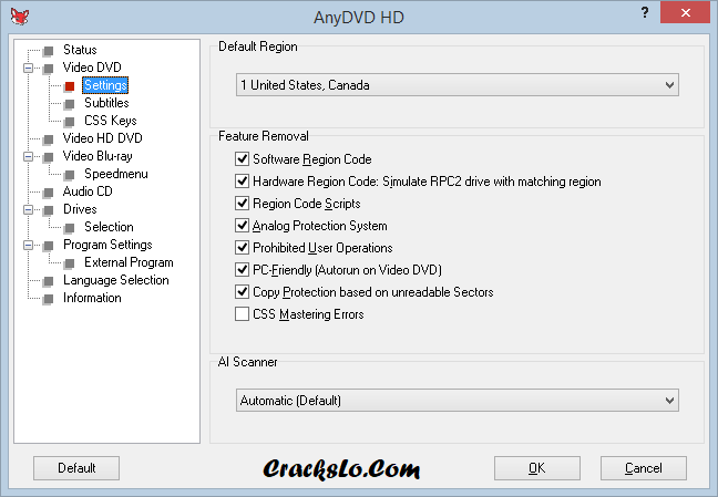 AnyDVD HD License Key