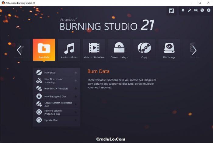 Ashampoo Burning Studio License Key