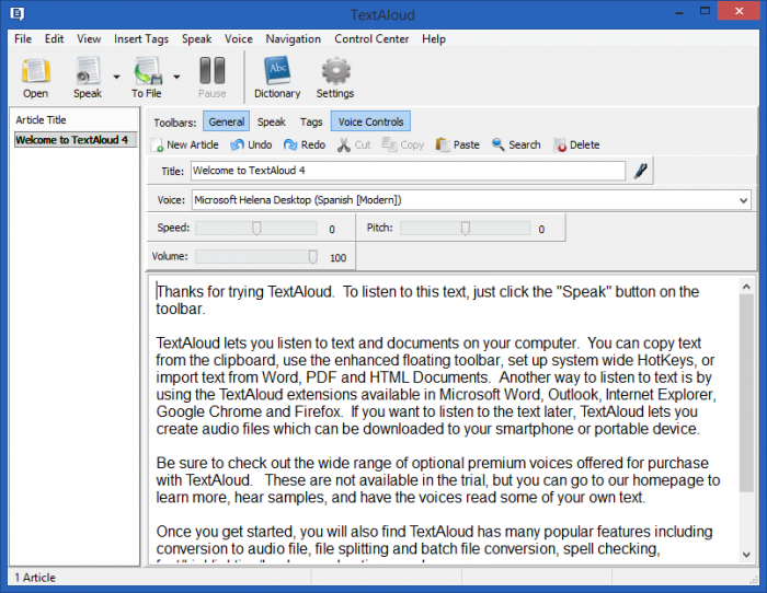 NextUp TextAloud License Key