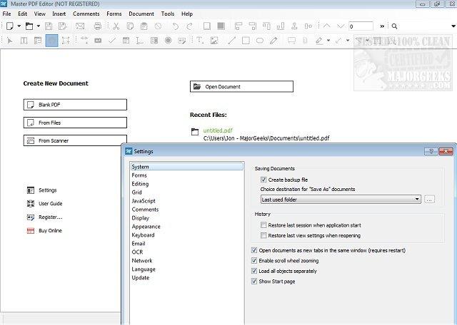 Master PDF Editor Activation Key