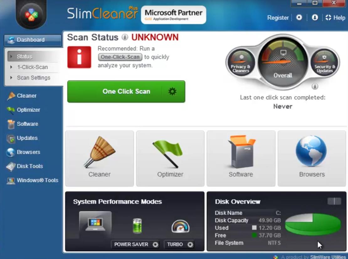 SlimCleaner Activation Key