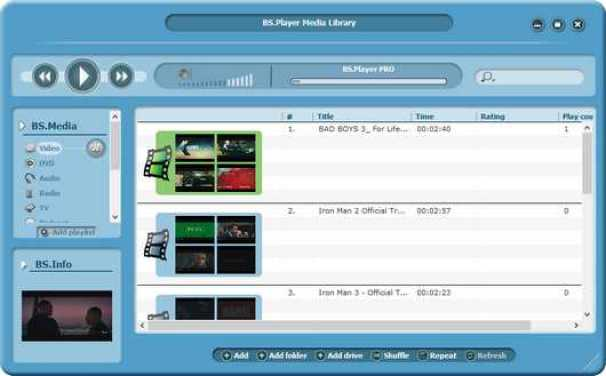 BS.Player Pro Download