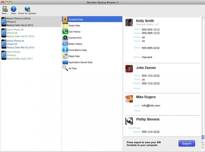 Decipher Backup Browser Download