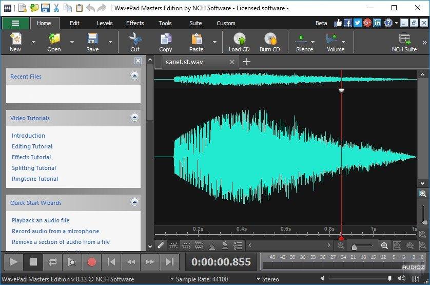 WavePad Sound Editor Activation Key